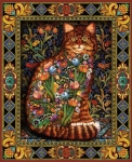 Tapestry Cat - Lewis T. Johnson