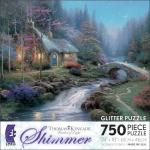 Shimmer -Twilight Cottage - Thomas Kinkade