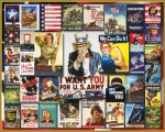 WWII Poster Collage