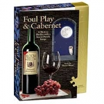 Foul Play and Cabernet Murder Mystery Jigsaw Puzzle
