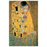 Klimt The Kiss Metallic - Gustav Klimt
