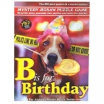 B is for Birthday Murder Mystery Jigsaw Puzzle